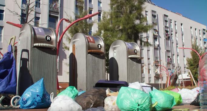 video barri net recicla Ana Serrot Associació de Veïnes i Veïns Barri Maresme BCN
