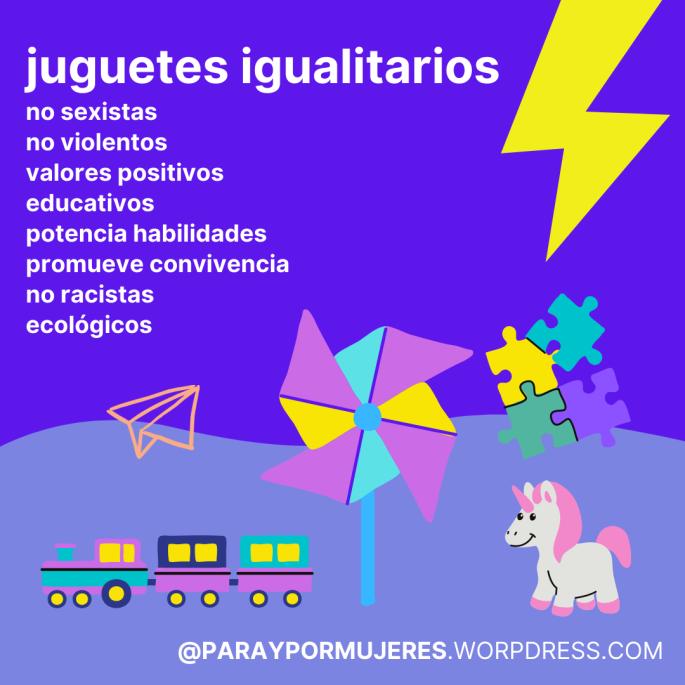 GUIA JUGUETES IGUALITARIOS JUGUETES NO SEXISTAS PARAYPORMUJERES