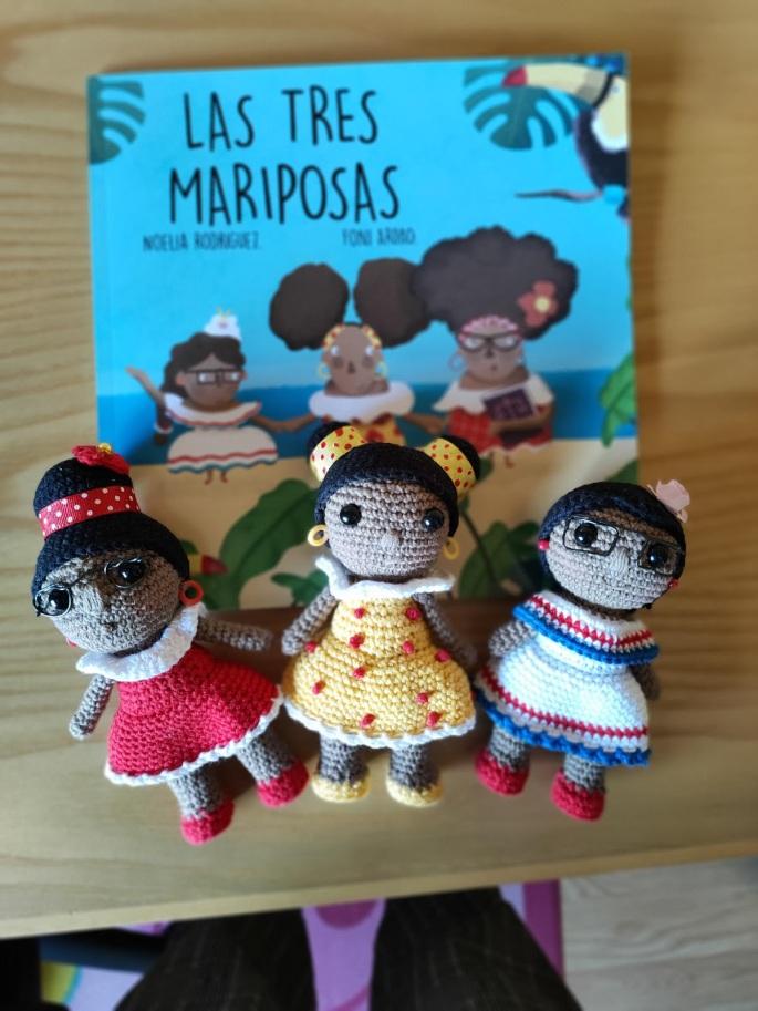 las tres mariposas proyecto educativo con perspectiva de genero Noelia Rodriguez pedagoga terapeuta educación infantil