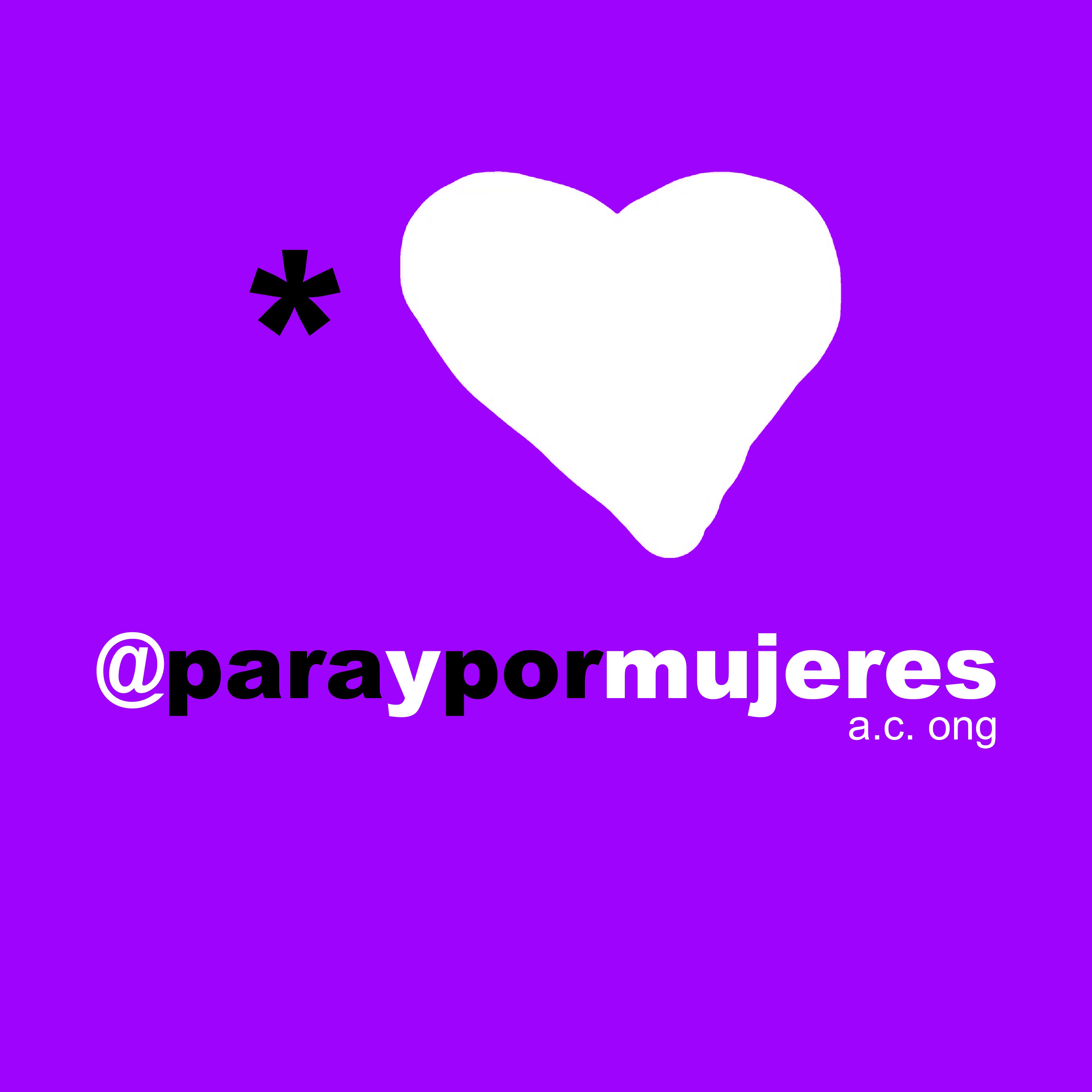 LOGO PARAYPORMUJERES ONG FEMINISTA LGTBIQ+ BARCELONA DIFUSIÓN ARTISTAS LOVE REVOLUTION